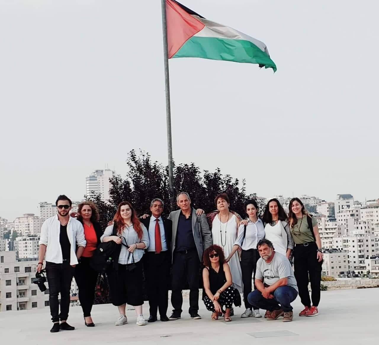 ΑΜΙ on a journalistic mission to Palestine